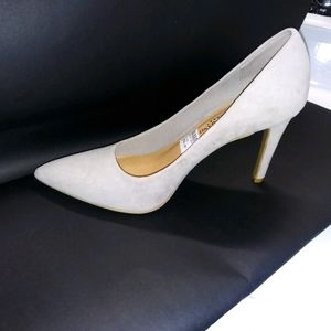 Christian Siriano Heels | Shoes light grey pointed